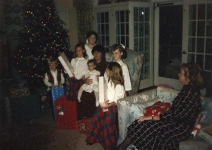 Family Christmas long ago!